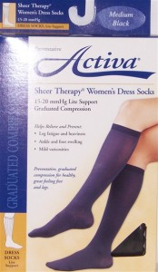 Activa Women's 15-20 mmHg Graduated Compression Socks