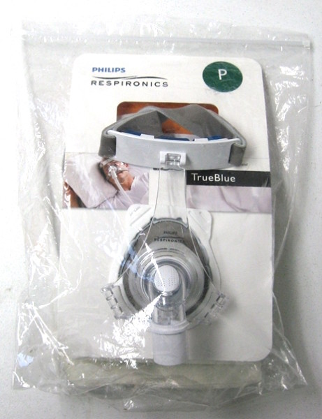 Respironics TrueBlue nasal mask Petite
