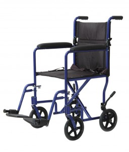 "19"" Aluminum Transport Chair"