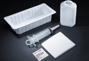 Irrigation Tray with Piston Syringe